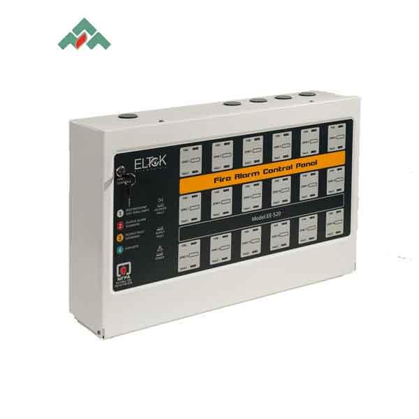EF-520.18 – مرکز کنترل اعلام حریق ۱۸ زون Eltek برند ANA