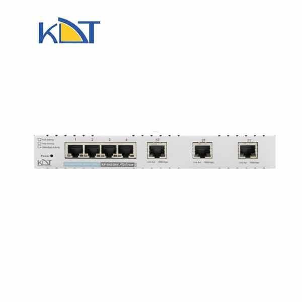 KP-0403H4 - سوئیچ شبکه ۷ پورت KDT