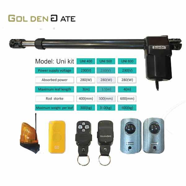 Uni500 - جک درب اتوماتیک گلدن گیت Golden Gate