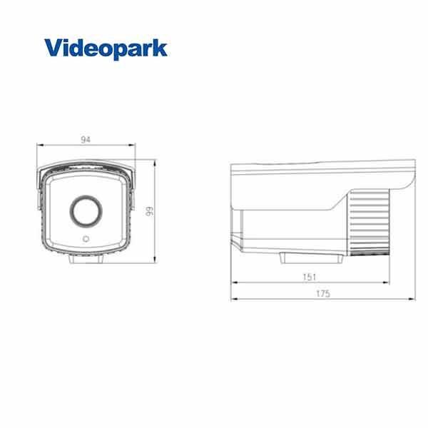 VP-IPC-IRQ3200FDP - دوربین تحت شبکه ۲ مگاپیکسل VideoPark