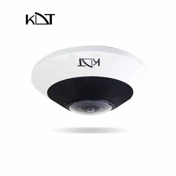 KI-F25ST60F - دوربین تحت شبکه چشم ماهی ۶ مگاپیکسل KDT