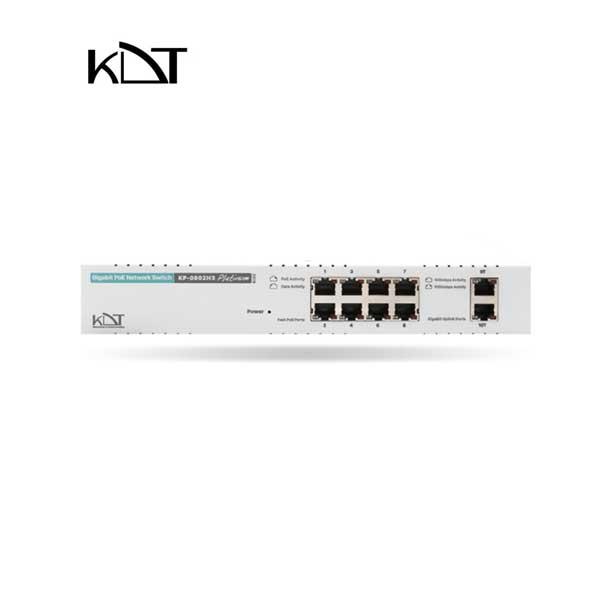KP-0802H3 - سوئیچ شبکه ۱۰ پورت POE برند KDT