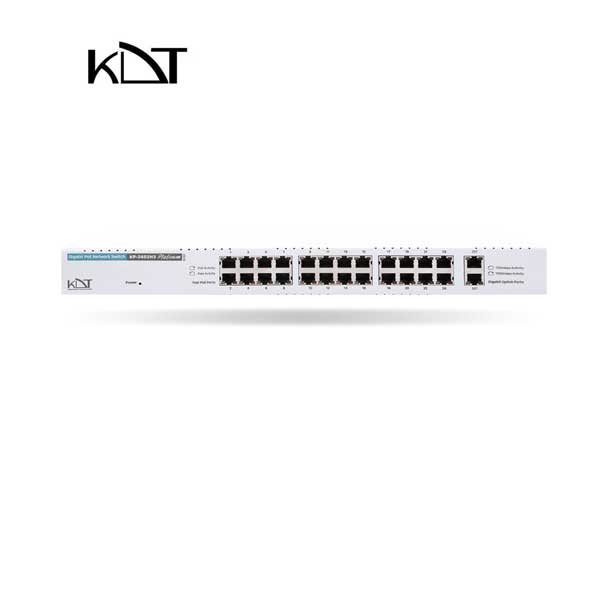 KP-2402H3 - سوئیچ شبکه ۲۶ پورت POE برند KDT