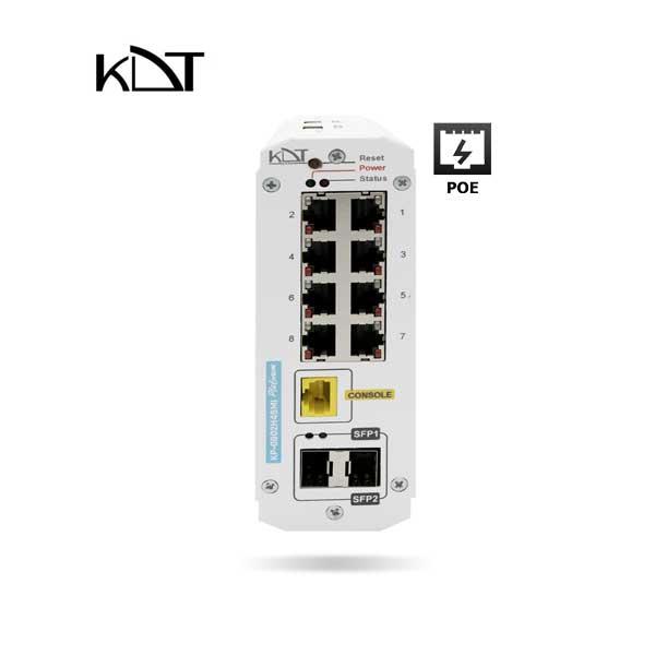 KDT-0802H4SMI - سوئیچ شبکه ۱۰ پورت POE برند KDT